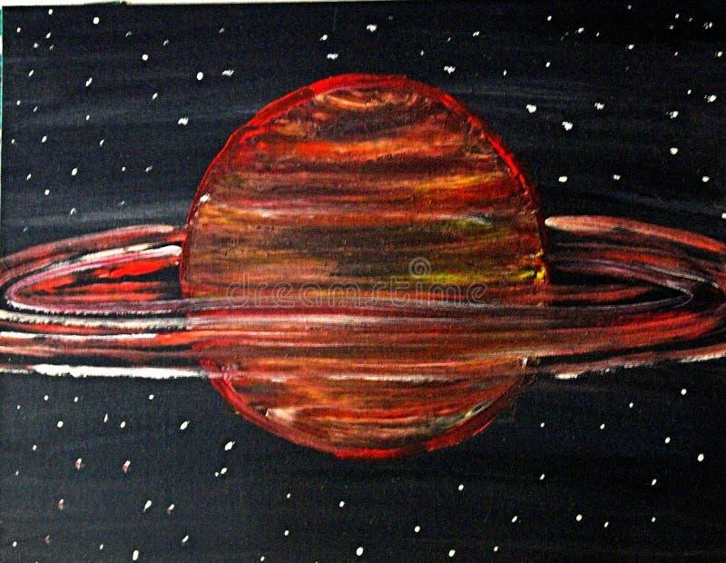 Art Solar Planets stock photos