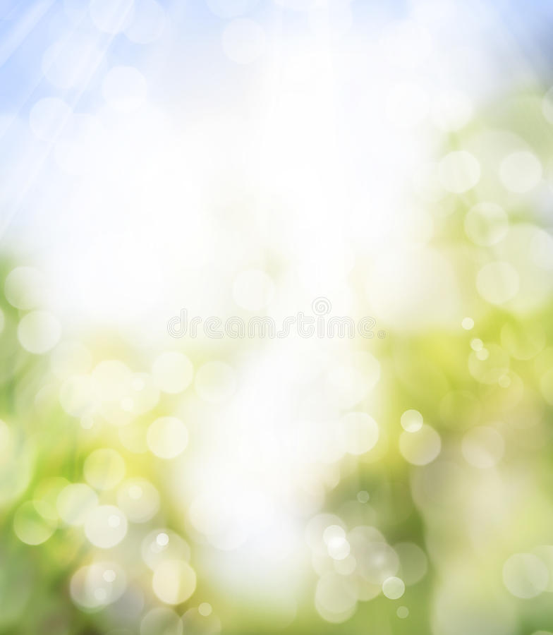 Art spring background. Blurred background with the spring sun