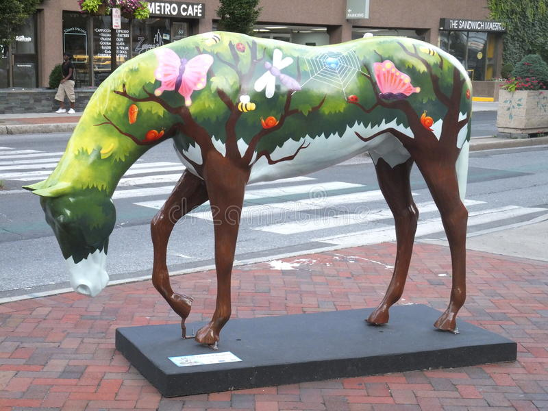 Art in Stamford, Connecticut stock photography