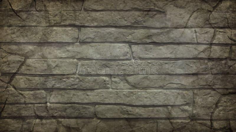 Art Stone Background Texture Grunge illustrazione di stock