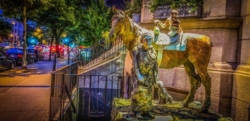 Art street stock photo