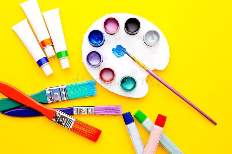 Art Supplies - equipamento imagem de stock