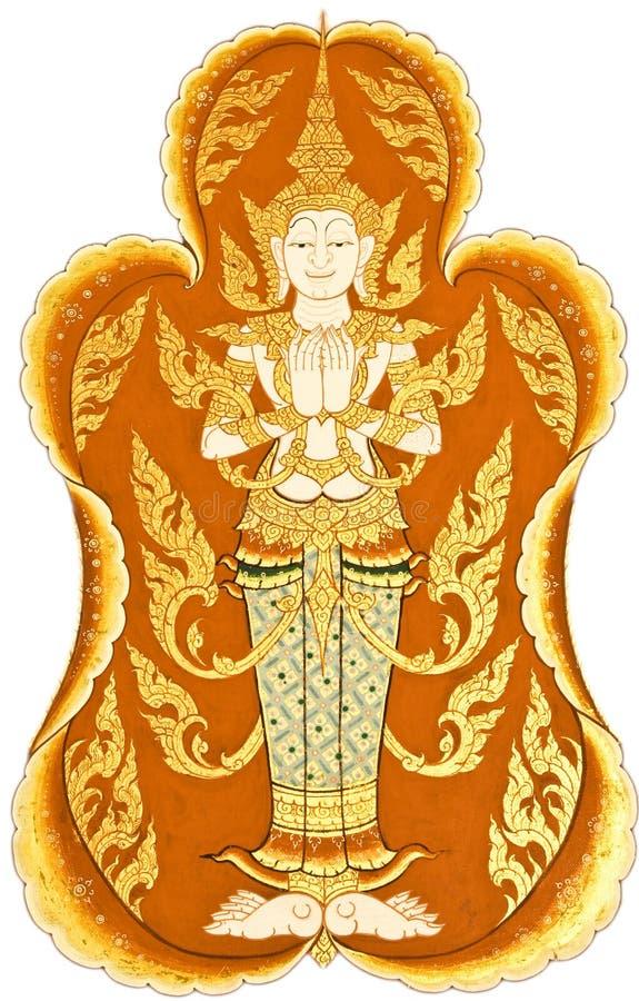 Art. tailandese tradizionale. fotografie stock