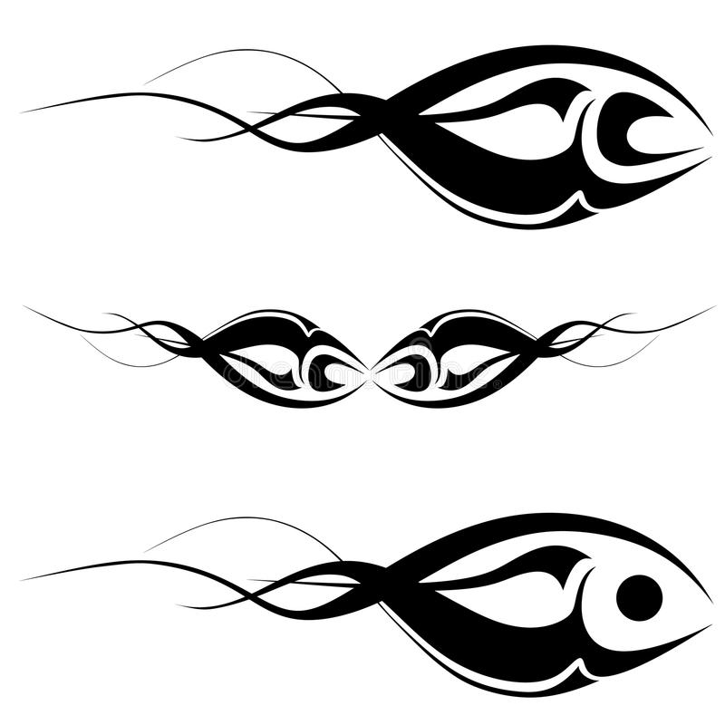 art tattoo royalty free illustration