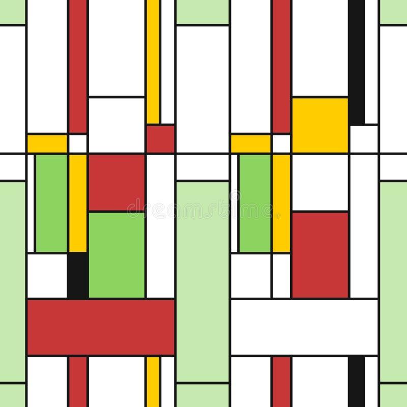 Art Texture geometrico illustrazione vettoriale