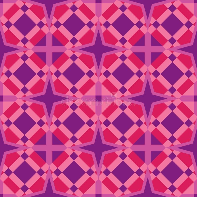 Art Tile et fond géométriques sans couture illustration stock