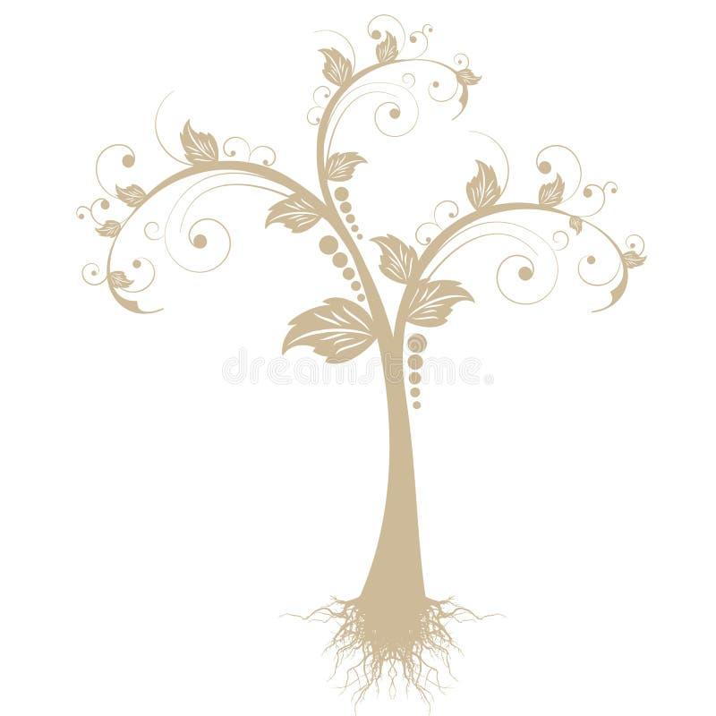 Art Tree royalty free illustration