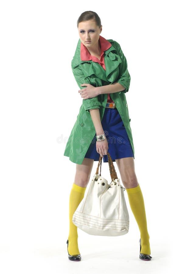 Art und Weisefrau stockfoto