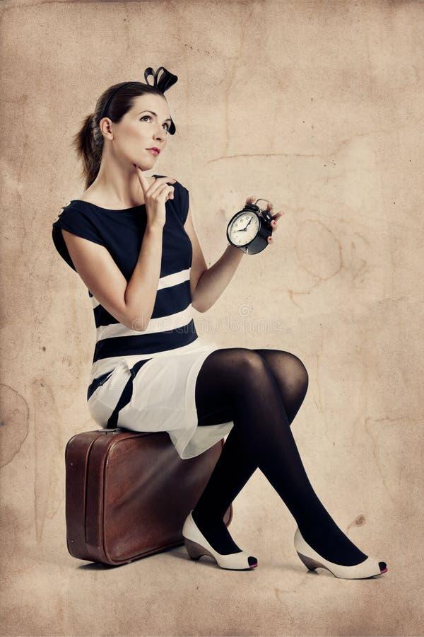 Art und Weisefrau stockfotografie