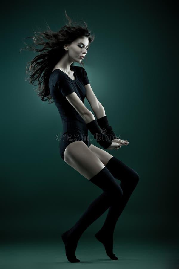 Art- und Weisefrau lizenzfreies stockfoto