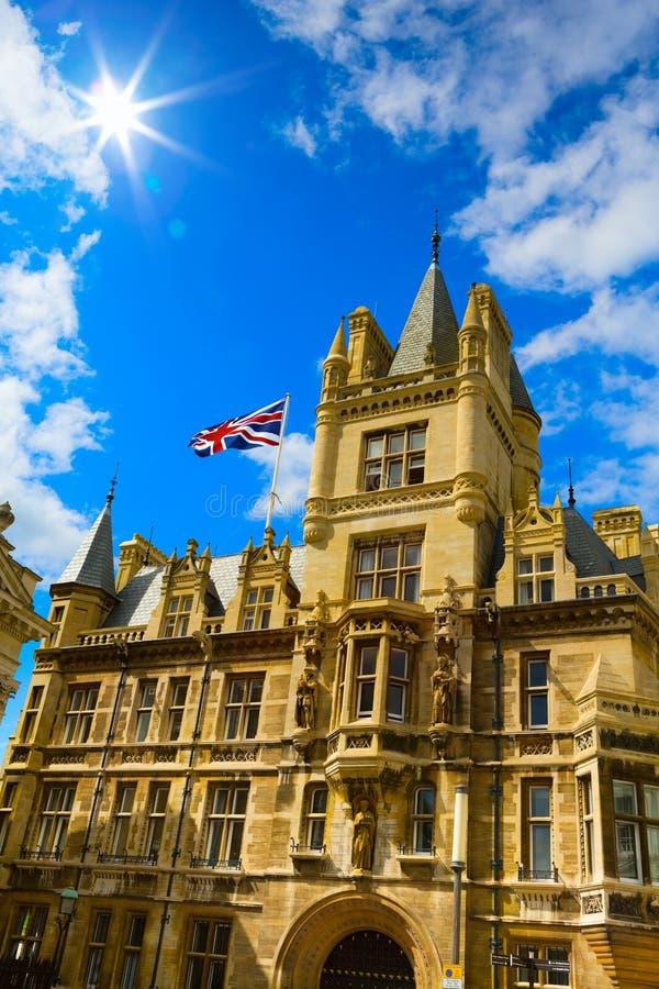 Art University utbildning Cambridge, Förenade kungariket royaltyfri fotografi