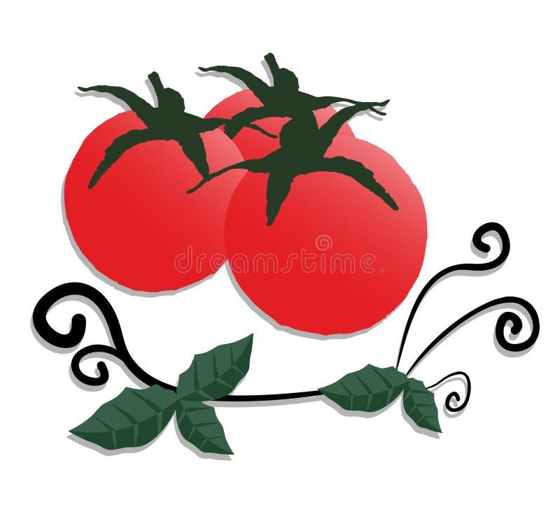 Art végétal illustration stock
