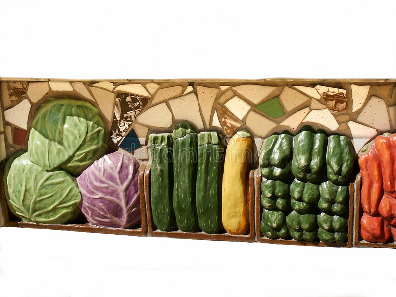 Art végétarien photographie stock libre de droits