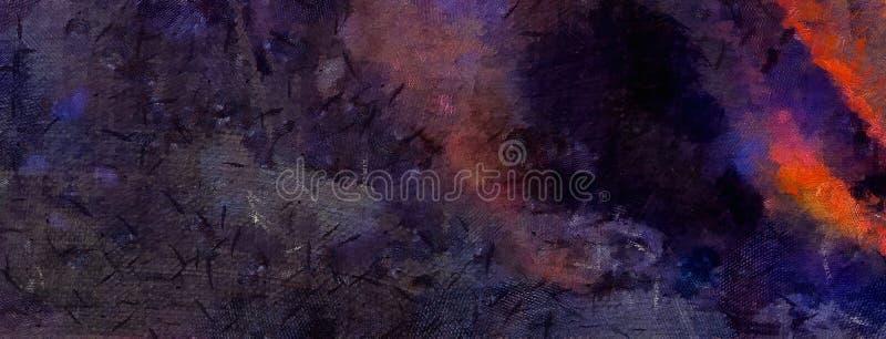 Art. van de indruk het abstracte textuur Artistieke heldere bacground voorraad Olieverfschilderijkunstwerk Modern stijl grafisch  royalty-vrije illustratie
