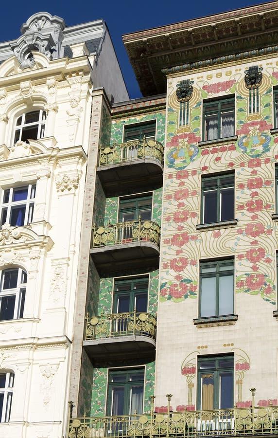 Art viennois Nouveau, Otto Wagner d'architecture image libre de droits