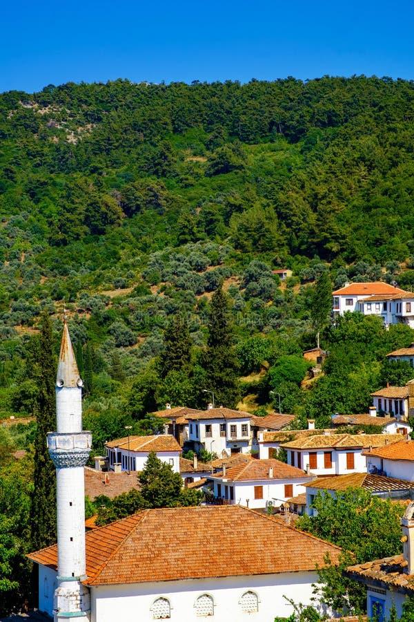 Art Village Near Ephesus. Sirince Village Stock Image ...
