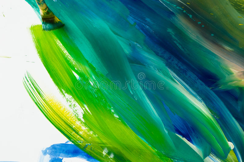 Art wallpaper. Abstract gouache painting art wallpaper royalty free stock images