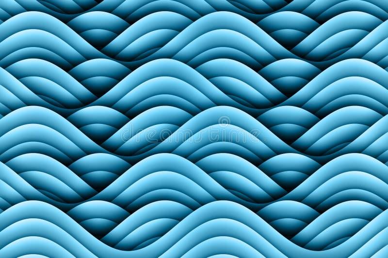 Art Waves Background Design abstrato ilustração royalty free