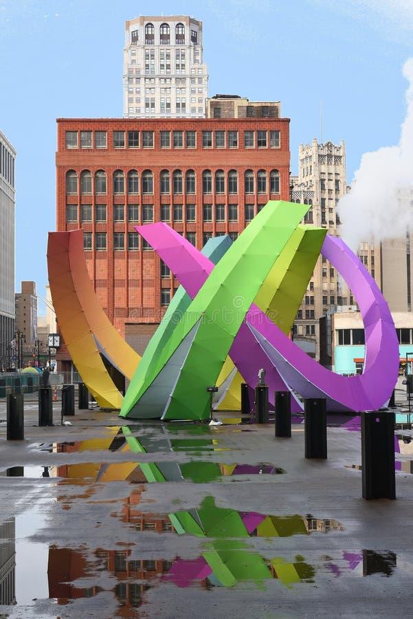 Art Where coloré par projet de milliard de dollar est maintenant en cours photos libres de droits