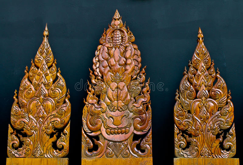 Download Art of wood carving stock image. Image of background - 25756291