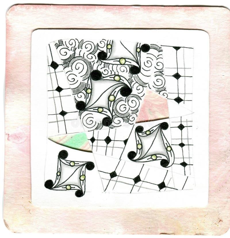 Art & Zentangle stock image