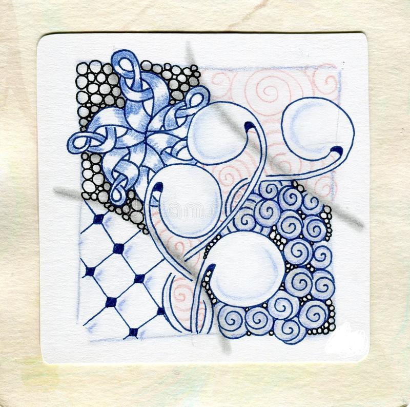 Download Art Zentangle Stock Illustration Of Multicoloured