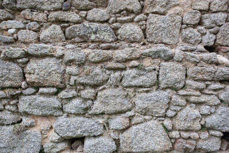Artdesign des wirklichen Steinwand-Oberflächenmusters graues Farb lizenzfreie stockfotos