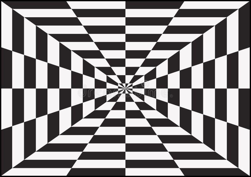 Arte óptico ilustración del vector. Ilustración de bucle - 34607933