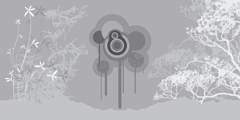Arte 2 do zen imagem de stock royalty free
