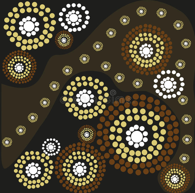 Arte aborigen libre illustration