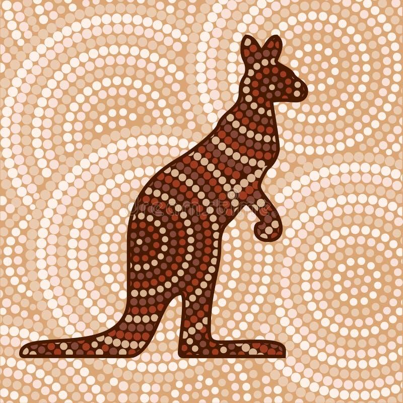 Arte aborigena astratta royalty illustrazione gratis