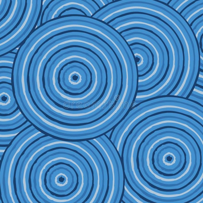 Arte aborigena astratta illustrazione vettoriale