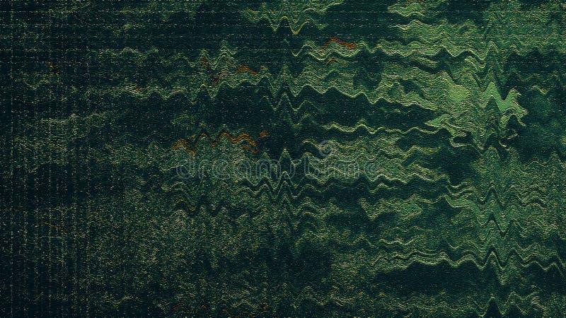 Arte abstracto Derramamiento de la tinta en tablero de la lona Movimientos brillantes Ilustraciones del derramamiento de la tinta imagenes de archivo