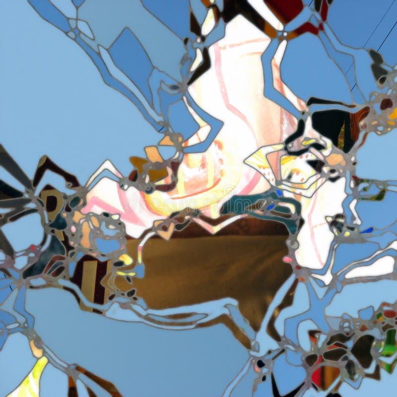 Arte abstrata ilustração do vetor