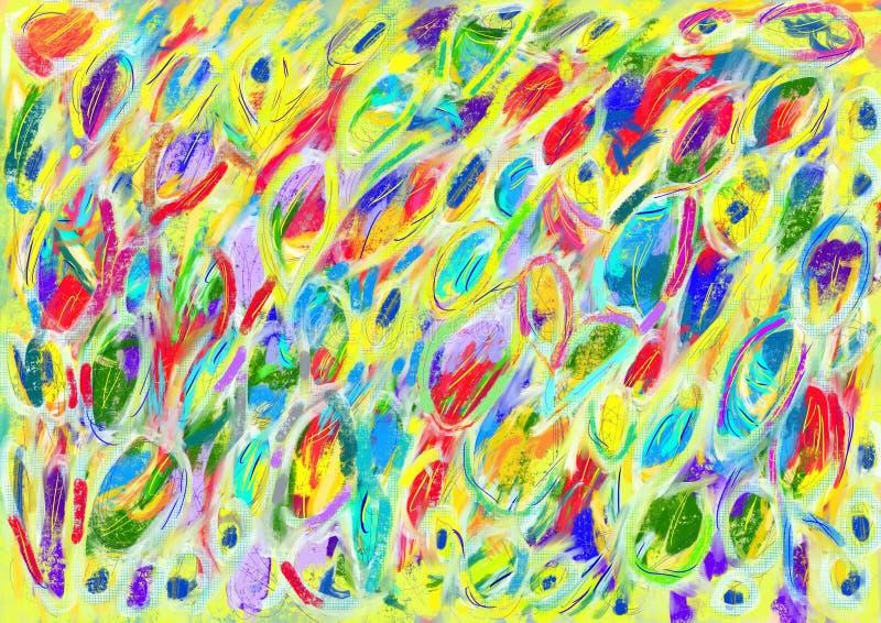 Arte abstrata foto de stock