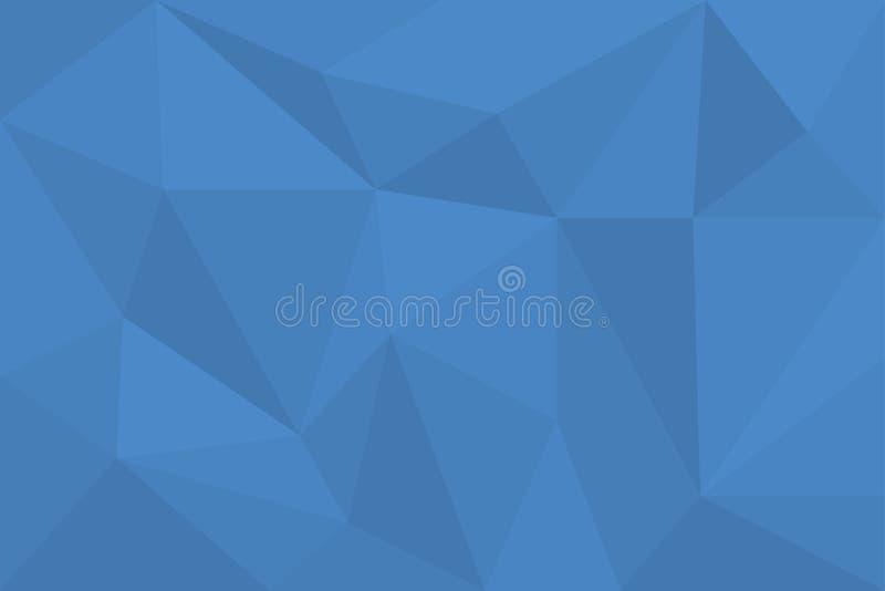 Arte abstrata do fundo feita com formas poligonais e triangulares ilustração do vetor