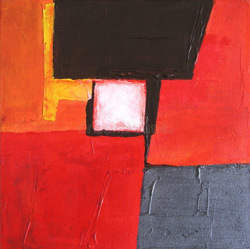 Arte abstrata moderna - pintura - fundo foto de stock