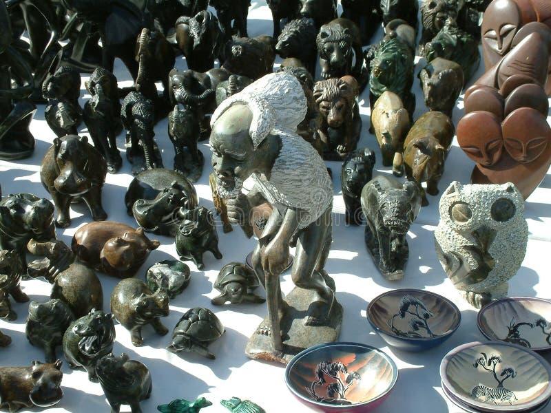 Arte africana fotografia de stock
