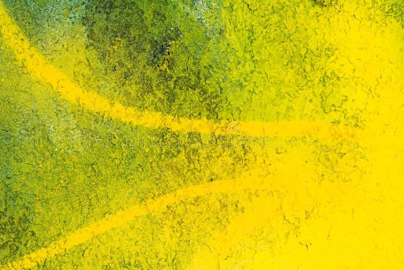 Arte amarillo de la calle stock de ilustración