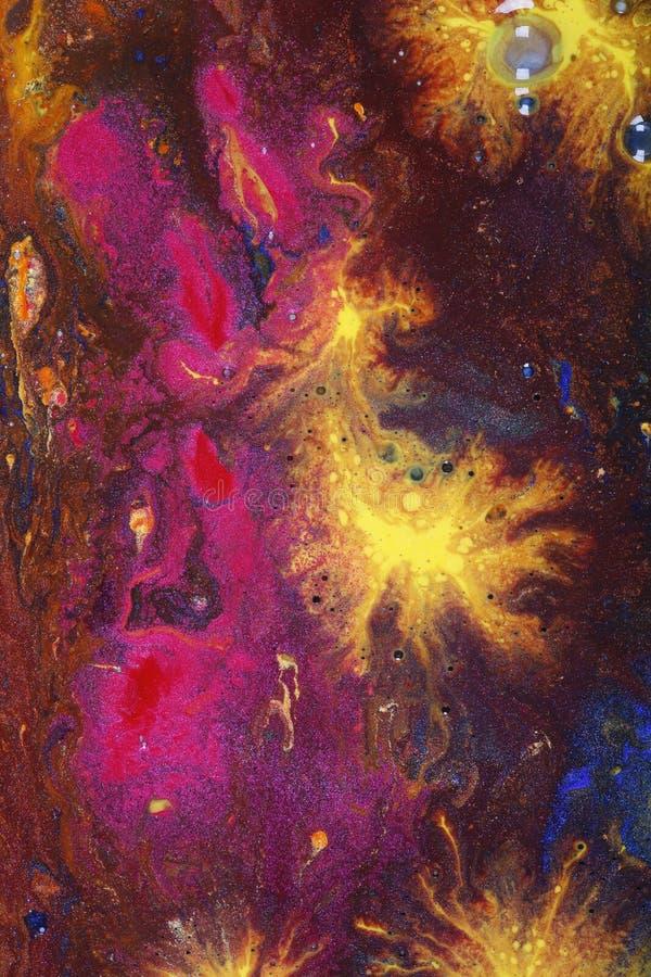 Arte astratta della tela di canapa fotografia stock libera da diritti