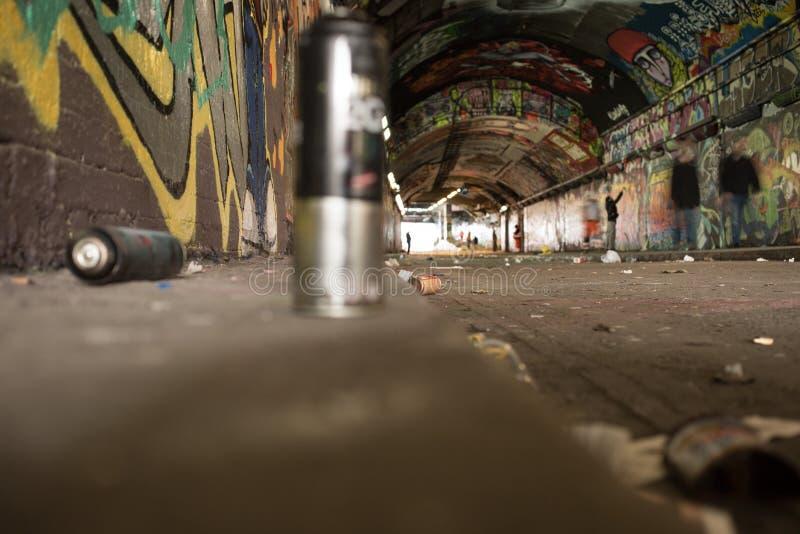 Arte callejero - Street Art stock photo