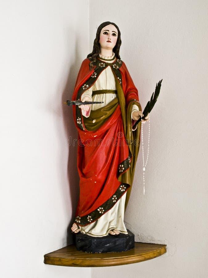 Arte católico, escultura imagen de archivo libre de regalías