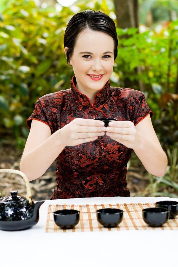 Arte chinesa do chá imagem de stock royalty free