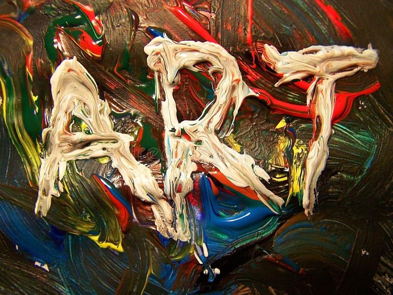 Arte - colori immagine stock