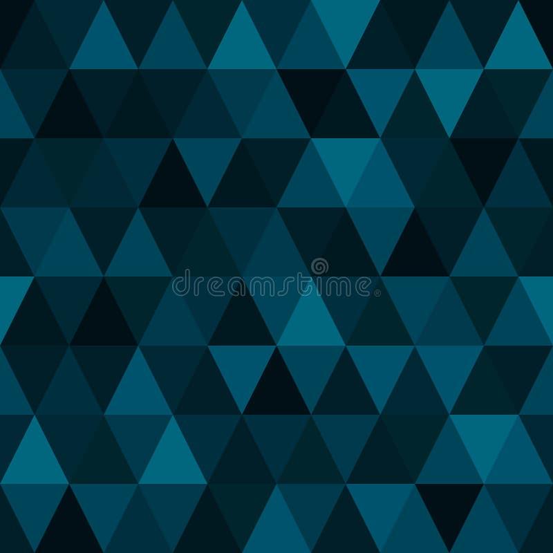 Arte contemporáneo moderno del diseño del modelo del vector del extracto geométrico inconsútil del fondo con el mosaico colorido  libre illustration