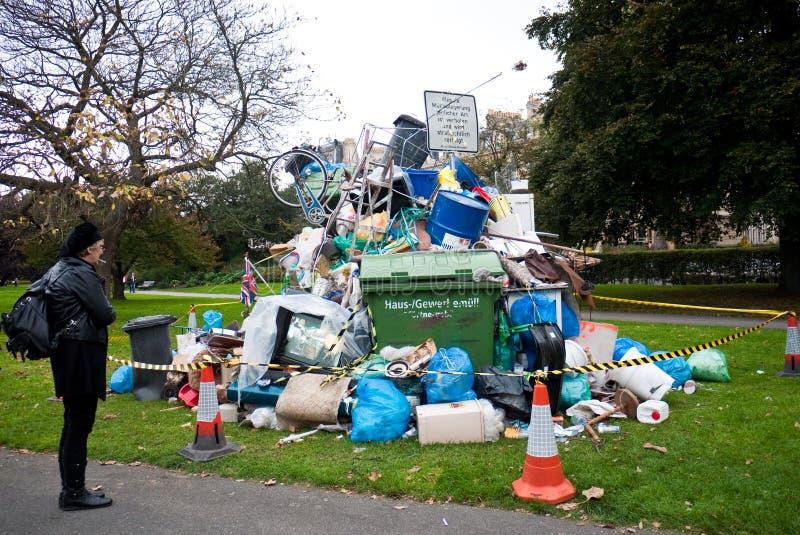 Arte contemporânea Londres justa do friso. fotos de stock