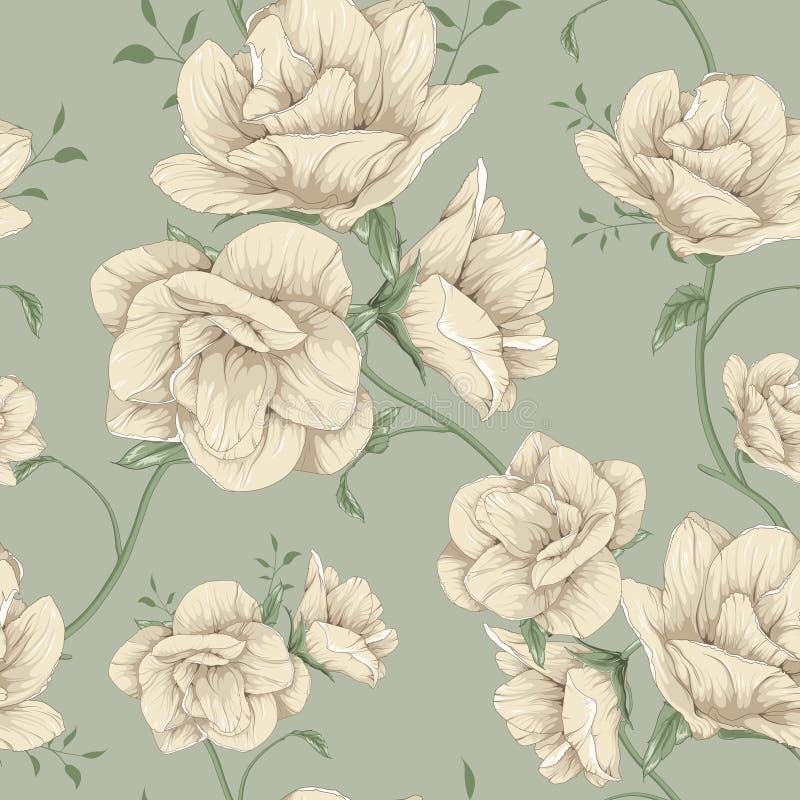 arte cor-de-rosa da flor ilustração stock