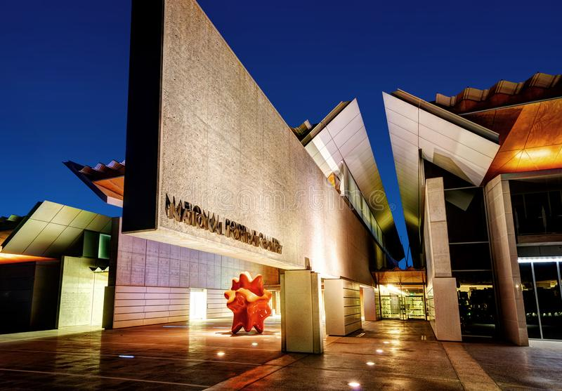 Arte da arquitetura de Canberra imagem de stock