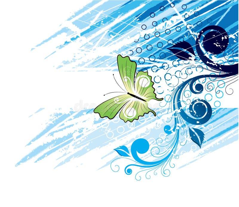 Arte da borboleta ilustração royalty free