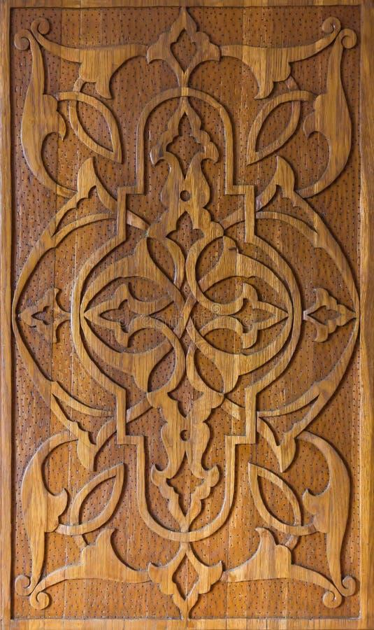 Arte da cinzeladura de madeira foto de stock royalty free